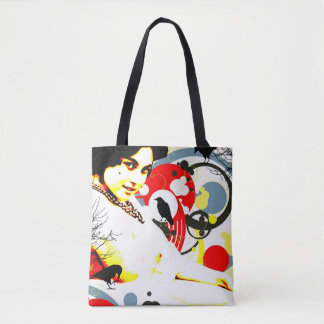 Nostalgic Seduction - Curious Crow Tote Bag