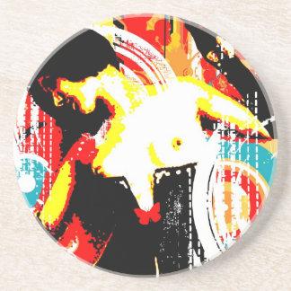 Nostalgic Seduction - Damsel In Domination Coaster