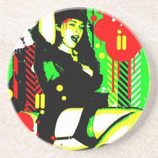 Nostalgic Seduction - Forever Pinup I Coaster