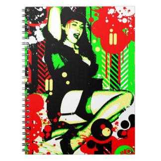 Nostalgic Seduction - Forever Pinup I Notebook