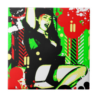 Nostalgic Seduction - Forever Pinup I Tile