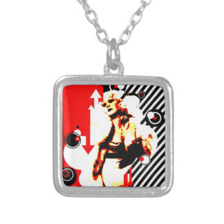 Nostalgic Seduction - Glamour Gal Silver Plated Necklace