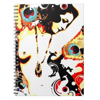 Nostalgic Seduction - Poetic Peacock Notebooks