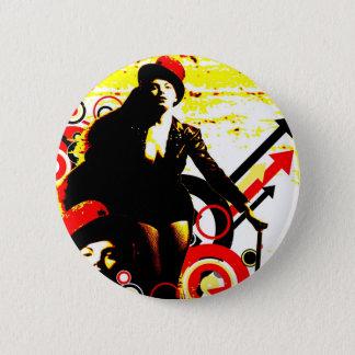 Nostalgic Seduction - Prurient Performer 2 Inch Round Button