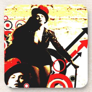 Nostalgic Seduction - Prurient Performer Coaster