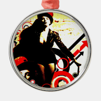 Nostalgic Seduction - Prurient Performer Metal Ornament