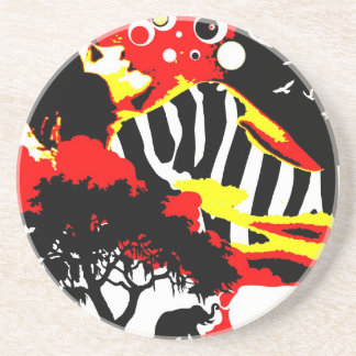 Nostalgic Seduction - Safari Dreams Beverage Coaster