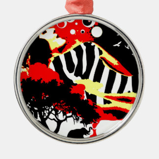 Nostalgic Seduction - Safari Dreams Metal Ornament
