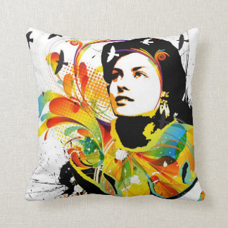 Nostalgic Seduction - Soul Explosion Light Throw Pillow