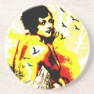Nostalgic Seduction - Timeless Flight Drink Coaster