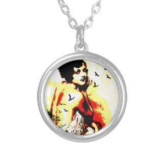 Nostalgic Seduction - Timeless Flight Silver Plated Necklace