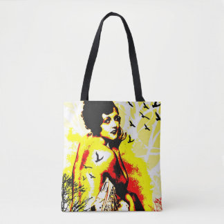 Nostalgic Seduction - Timeless Flight Tote Bag