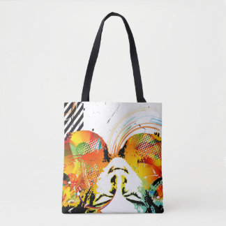 Nostalgic Seduction - View from Above Tote Bag