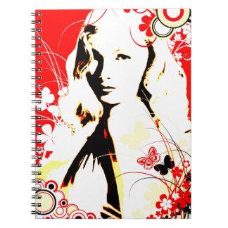 Nostalgic Seduction - Wistful Flutter Notebook