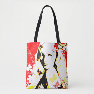 Nostalgic Seduction - Wistful Flutter Tote Bag