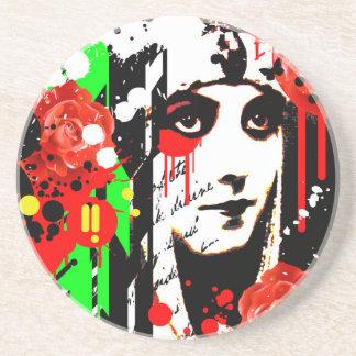 Nostalgic Seduction - Zombie Queen Roses Coaster