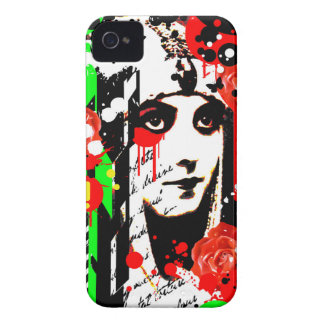 Nostalgic Seduction - Zombie Queen Roses iPhone 4 Case