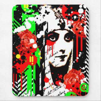 Nostalgic Seduction - Zombie Queen Roses Mouse Pad
