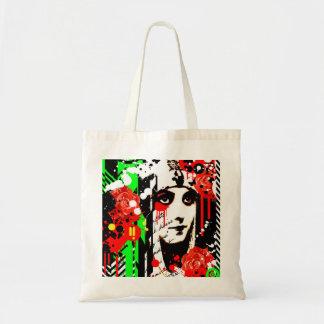 Nostalgic Seduction - Zombie Queen Roses Tote Bag