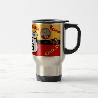 Nostalgic US Route 66 - New Mexico Travel Mug