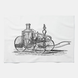 Nostalgically Exquisite Vintage Steam Punk Engine Hand Towel