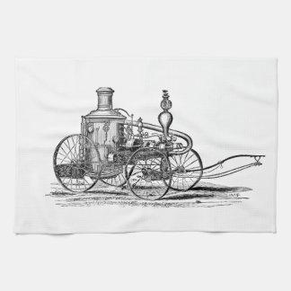 Nostalgically Exquisite Vintage Steam Punk Engine Kitchen Towel