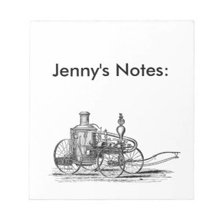 Nostalgically Exquisite Vintage Steam Punk Engine Notepads