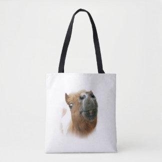 Nosy horse tote bag