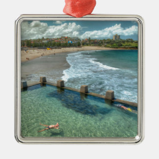 Not a care in the world- Coogee, Australia Metal Ornament