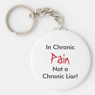 Not a Chronic Liar!, In Chronic, Pain Keychain