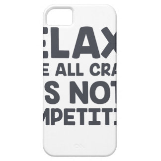 Not A Competition iPhone 5 Case