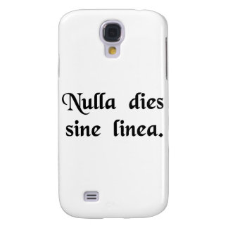 Not a day without a line samsung galaxy s4 case