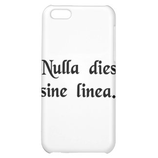 Not a day without a line. cover for iPhone 5C