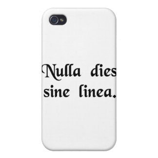 Not a day without a line iPhone 4/4S covers