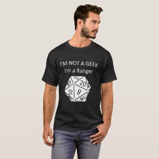 Not a Geek I'm a Ranger D20 Mens T Shirt