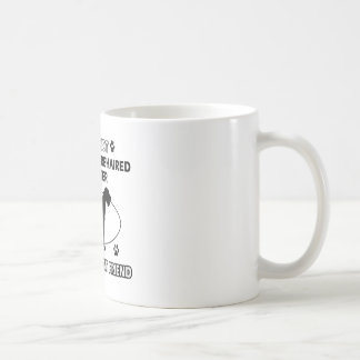 Not a german wirehaired pointer coffee mug