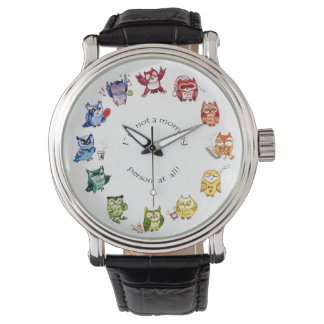 Not a morning person rainbow owls watch