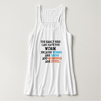 Not a Morning Person Tank Top