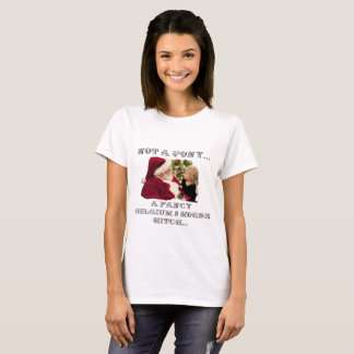 NOT A PONY - A FANCY BELGIUM 8 HORSE HITCH T-Shirt