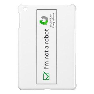 not a robot iPad mini covers
