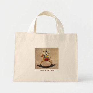 Not A Texan Mini Tote Bag