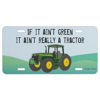 Not a tractor if its not green license plate