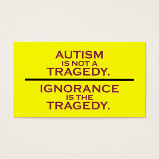 Not a Tragedy Activist Cards