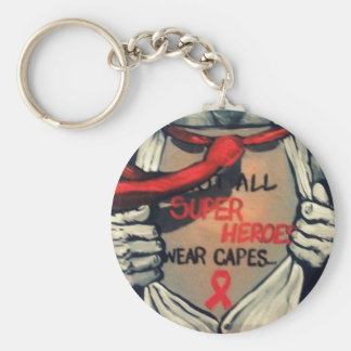 Not All Superheros Wear Capes Keychain