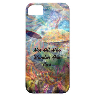 Not All Those Who Wander Inspirational Quote Case For The iPhone 5