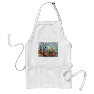 Not All Those Who Wander Inspirational Quote Standard Apron