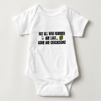 Not All Who Wander Are Lost... Baby Bodysuit