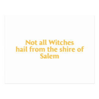 Not All Witches Postcard