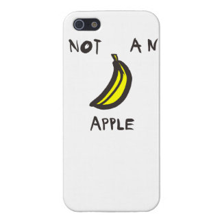 "Not an ""apple"" case iPhone 5/5S cases"