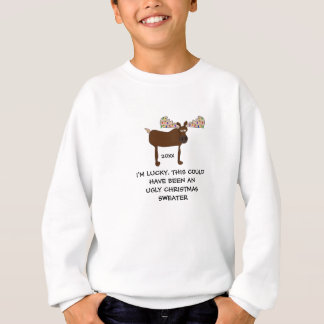 Not an Ugly Christmas Sweater-Funny TOP